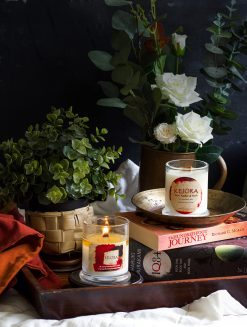 Glass jar- Floral range