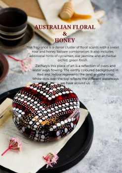 Australian Floral and Honey soy candle fragrance